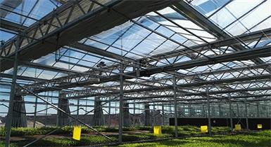 包头市农业科学研究所智能温室项目