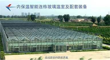 智能连栋玻璃温室配套设备