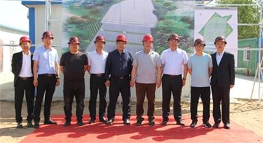 热烈祝贺准格尔召旅游区农业生态园二期建设项目开工仪式圆满成功